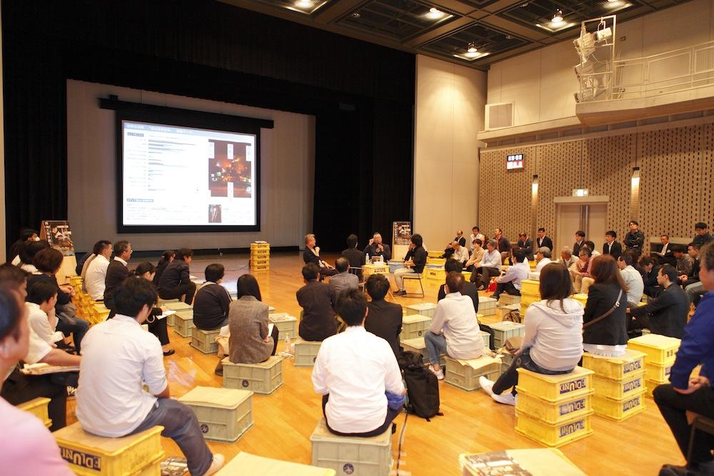 関の工場参観日2017特別セミナー 当日の会場内の写真