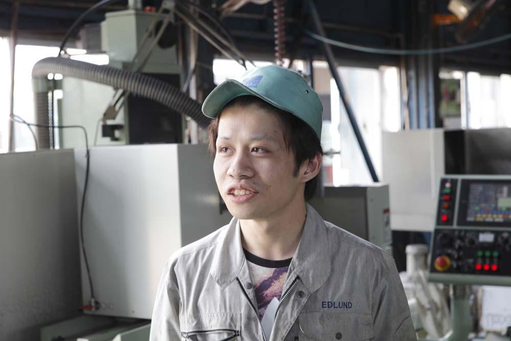 エドランド工業 白村友宏さん